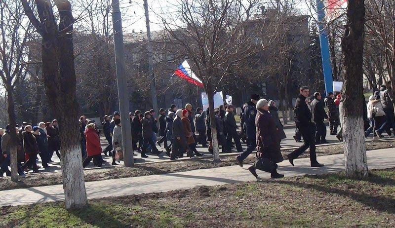 Антифашистский митинг в Мариуполе 8 марта (фото), фото-39