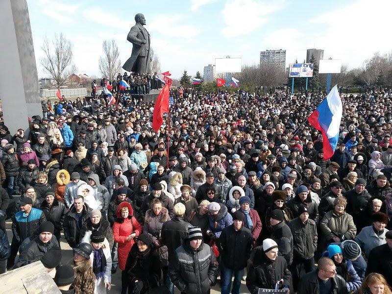 Антифашистский митинг в Мариуполе 8 марта (фото), фото-26