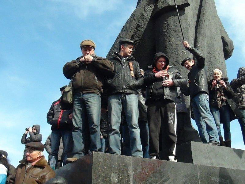 Антифашистский митинг в Мариуполе 8 марта (фото), фото-48