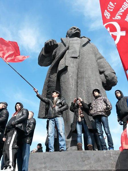 Антифашистский митинг в Мариуполе 8 марта (фото), фото-22