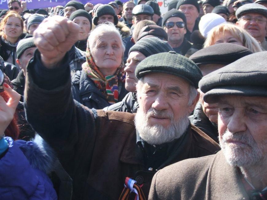 В Донецке на митинге требовали освобождения  «народного губернатора» Губарева (ФОТО, ВИДЕО), фото-4