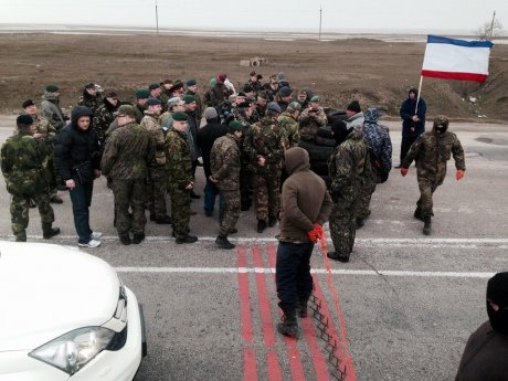 Миссия ОБСЕ не попала в Крым: российские военные стреляли (ФОТО), фото-1