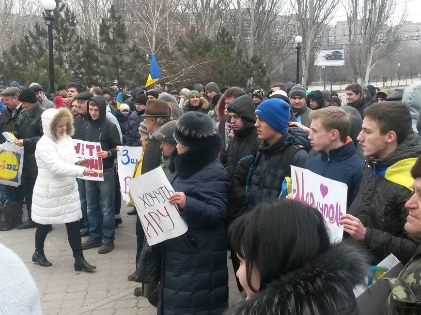 Мариупольцы выступили за единство Украины (ФОТО), фото-8