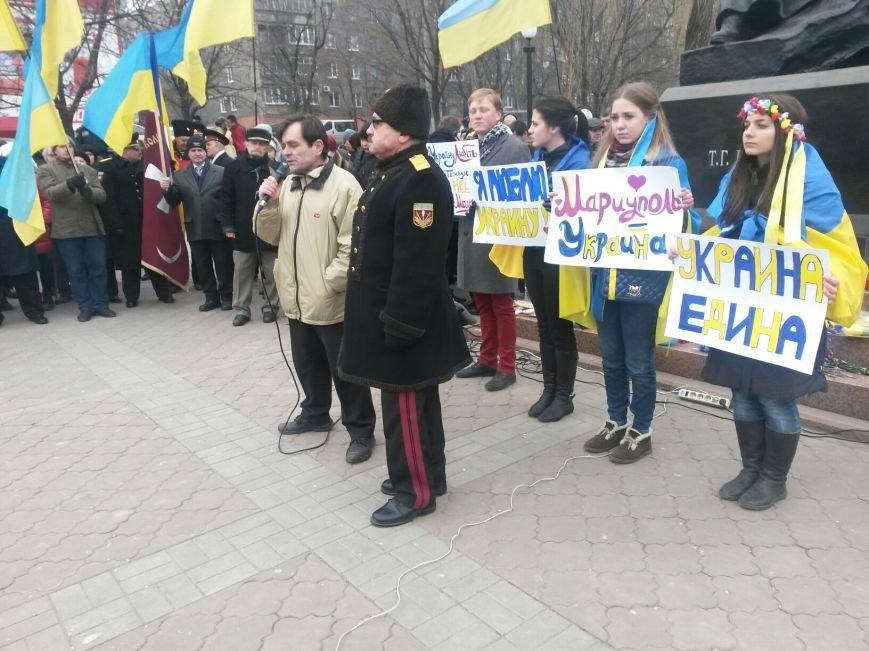 Мариупольцы выступили за единство Украины (ФОТО), фото-2