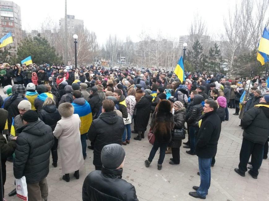 Мариупольцы выступили за единство Украины (ФОТО), фото-5