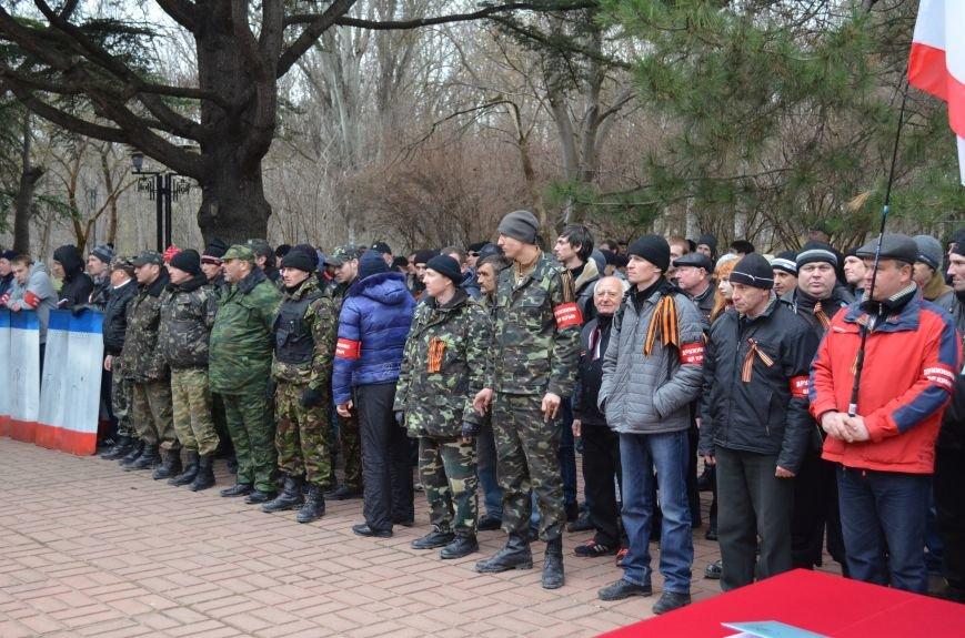 В Симферополе начали формировать Вооруженные силы Крыма (ФОТО, ВИДЕО), фото-3