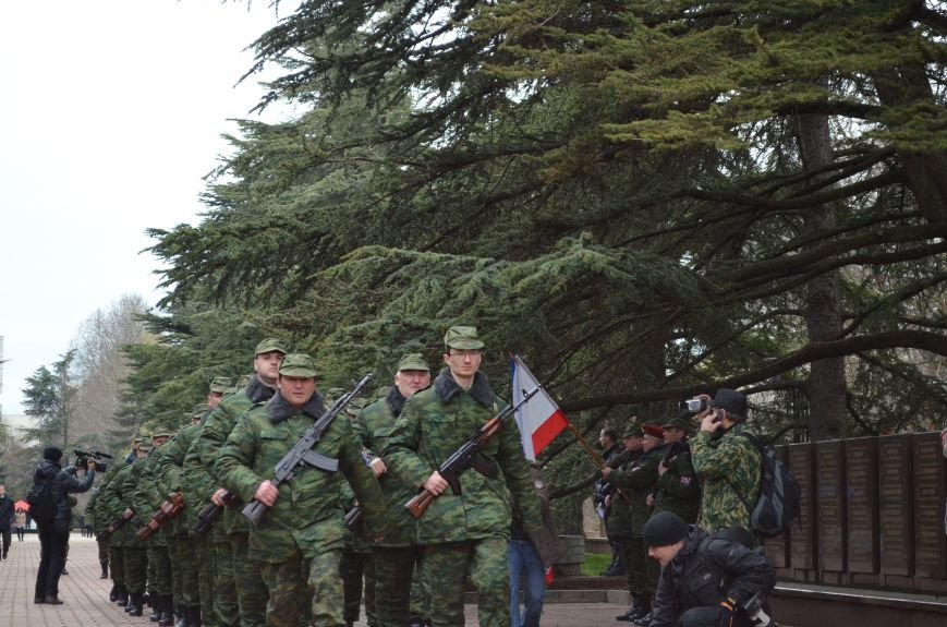 В Симферополе начали формировать Вооруженные силы Крыма (ФОТО, ВИДЕО), фото-5