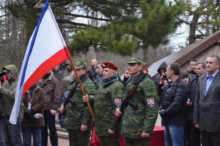 В Симферополе начали формировать Вооруженные силы Крыма (ФОТО, ВИДЕО), фото-7
