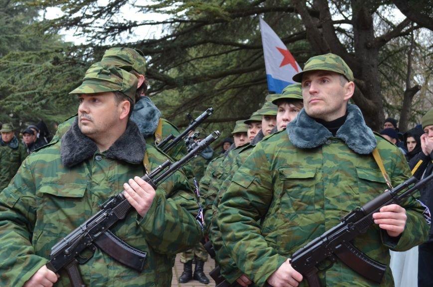 В Симферополе начали формировать Вооруженные силы Крыма (ФОТО, ВИДЕО), фото-9
