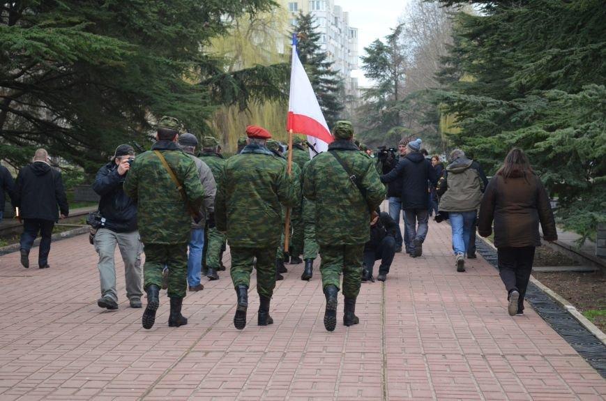 В Симферополе начали формировать Вооруженные силы Крыма (ФОТО, ВИДЕО), фото-11
