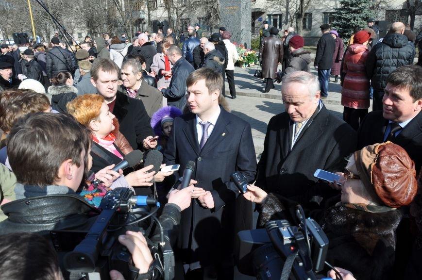 Житомирщина вшанувала пам'ять Великого Кобзаря, фото-7