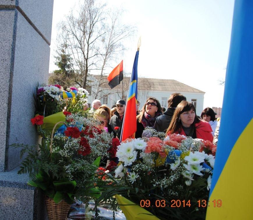 У Коростені з'явився ще один постамент  Тарасу Шевченку, фото-4