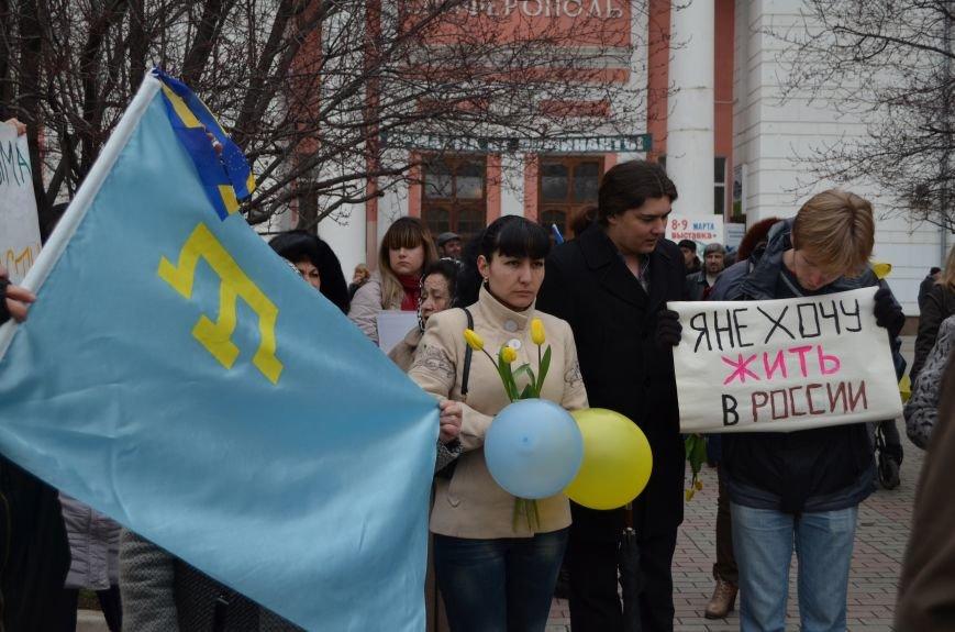 Крымские женщины призвали Путина подарить им мир (ФОТО, ВИДЕО), фото-10