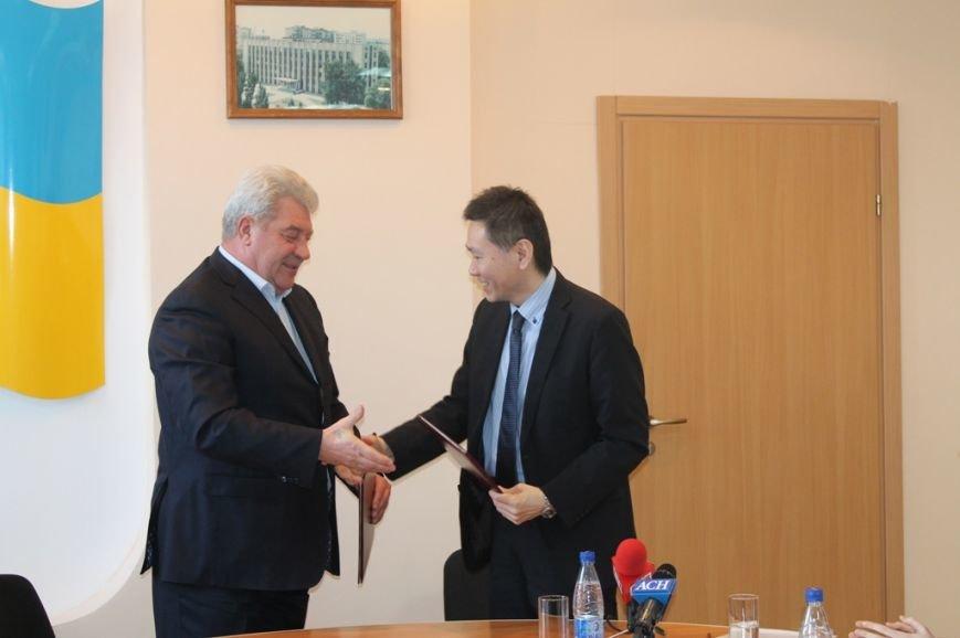 В Артемовском горсовете подписали меморандум о сотрудничестве с компанией из Японии (ВИДЕО), фото-4