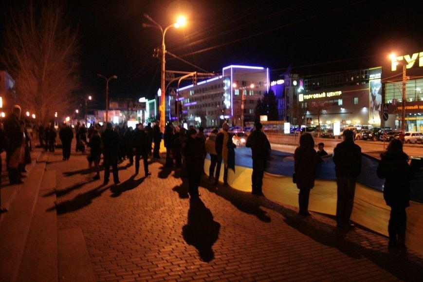 В Луганске прошел антивоенный митинг «Луганск - это Украина» (ФОТО), фото-3