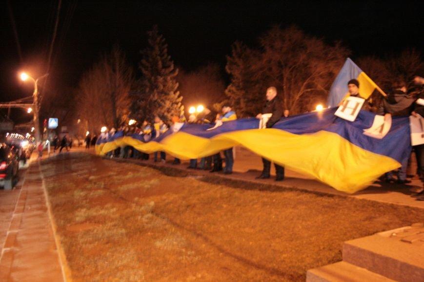 В Луганске прошел антивоенный митинг «Луганск - это Украина» (ФОТО), фото-7