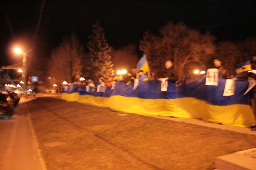 В Луганске прошел антивоенный митинг «Луганск - это Украина» (ФОТО), фото-6