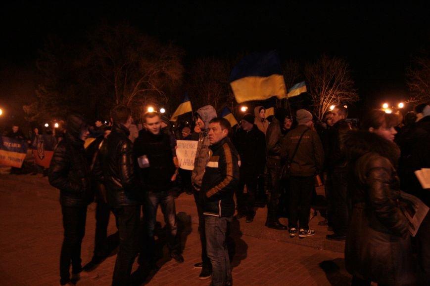 В Луганске прошел антивоенный митинг «Луганск - это Украина» (ФОТО), фото-5