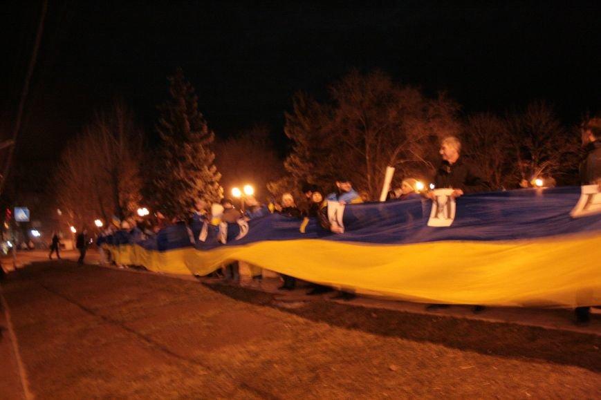 В Луганске прошел антивоенный митинг «Луганск - это Украина» (ФОТО), фото-2