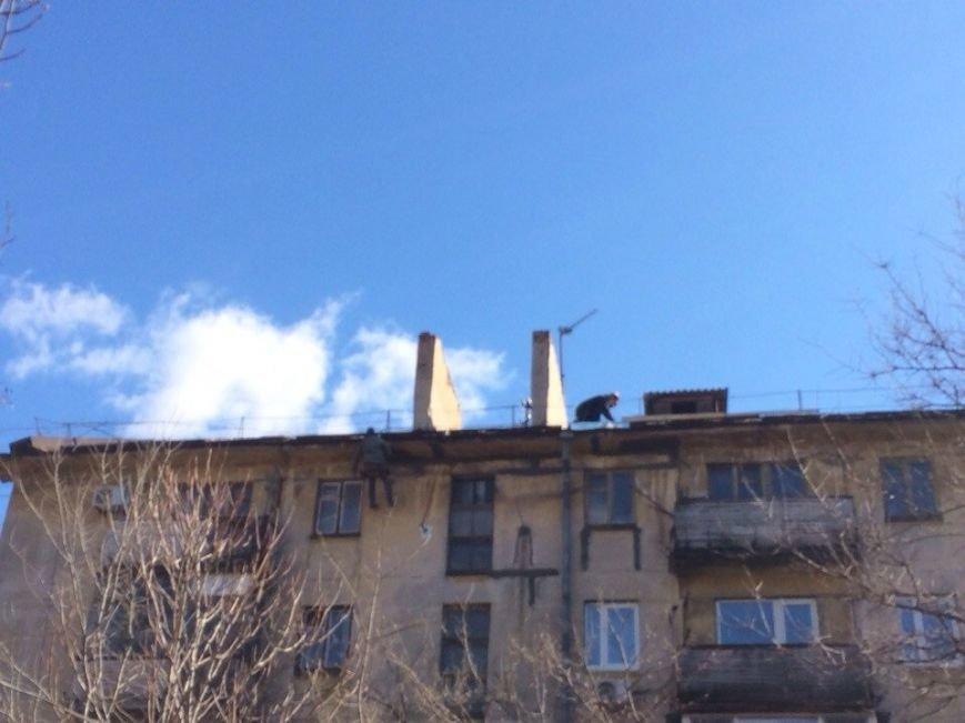 Крыша не течет! Мариупольцы пожаловались городскому голове (Фотофакт), фото-1