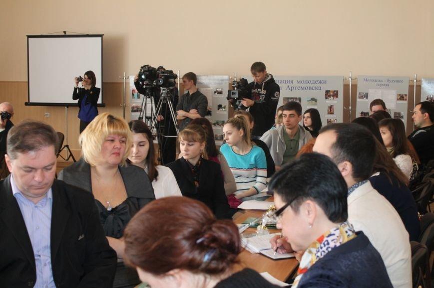 В Артемовске состоялось заседание областного молодежного совета(ВИДЕО), фото-3