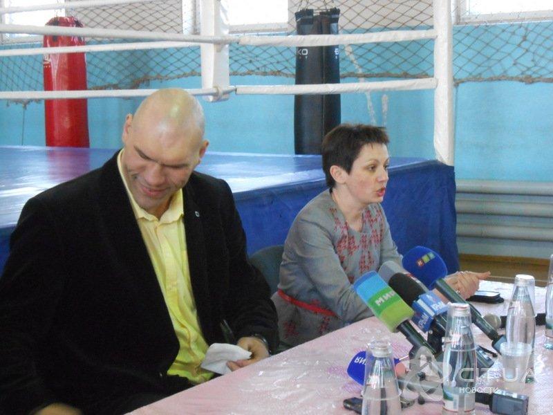 Валуев встретился в Симферополе с юными боксерами (ФОТО), фото-4
