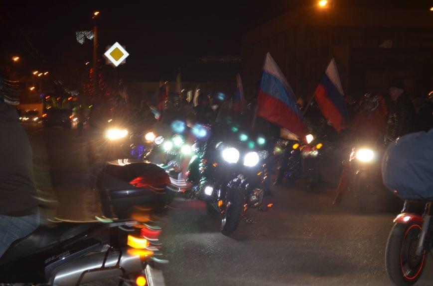В Симферополе стартовал мотопробег байкеров в поддержку политики России (ФОТО, ВИДЕО), фото-4