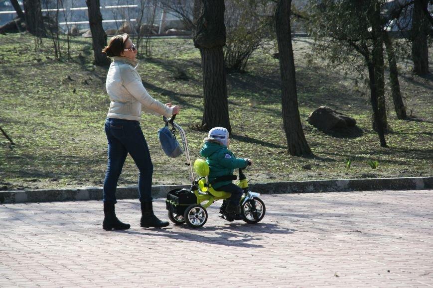 В Днепропетровск пришла весна (ФОТОРЕПОРТАЖ), фото-11
