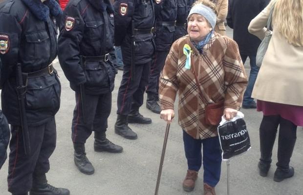В Москве проходит митинг в поддержку Украины (ВИДЕО-ТРАНСЛЯЦИЯ ОНЛАЙН, ФОТОРЕПОРТАЖ), фото-5