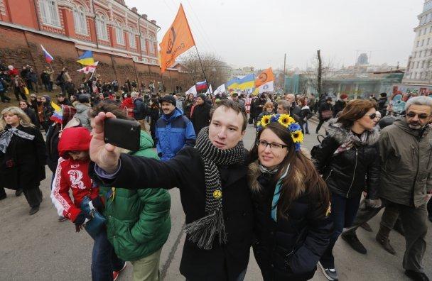 В Москве проходит митинг в поддержку Украины (ВИДЕО-ТРАНСЛЯЦИЯ ОНЛАЙН, ФОТОРЕПОРТАЖ), фото-8