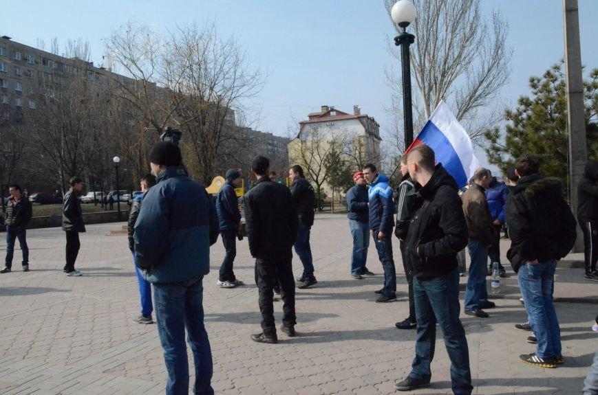 В Мариуполе представители пророссийского движения разогнали митинг за единую Украину (ФОТО+ВИДЕО), фото-2