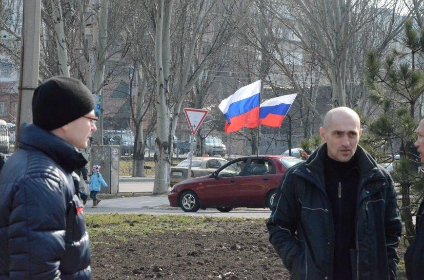 В Мариуполе представители пророссийского движения разогнали митинг за единую Украину (ФОТО+ВИДЕО), фото-26