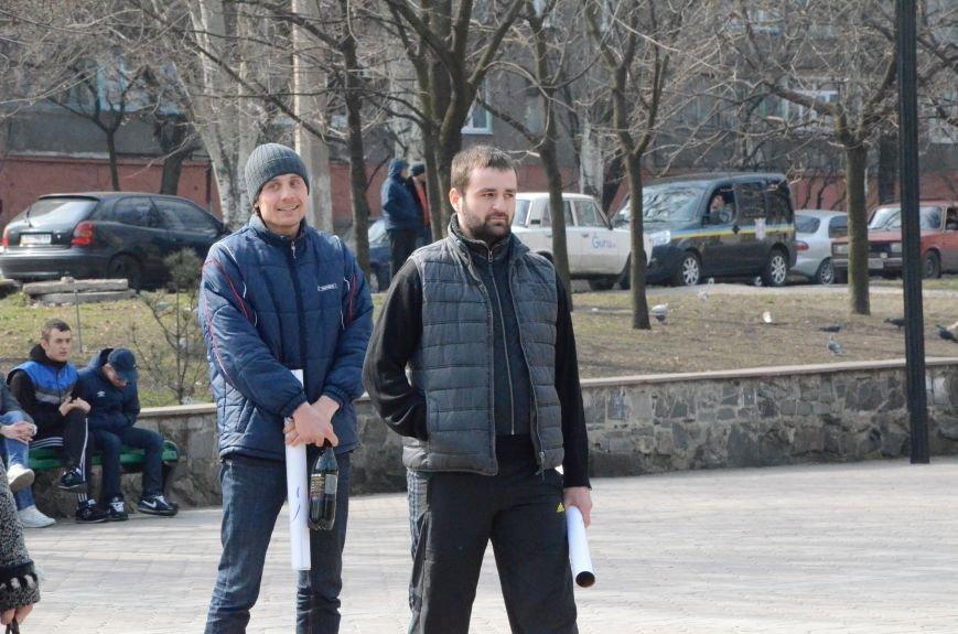В Мариуполе представители пророссийского движения разогнали митинг за единую Украину (ФОТО+ВИДЕО), фото-16