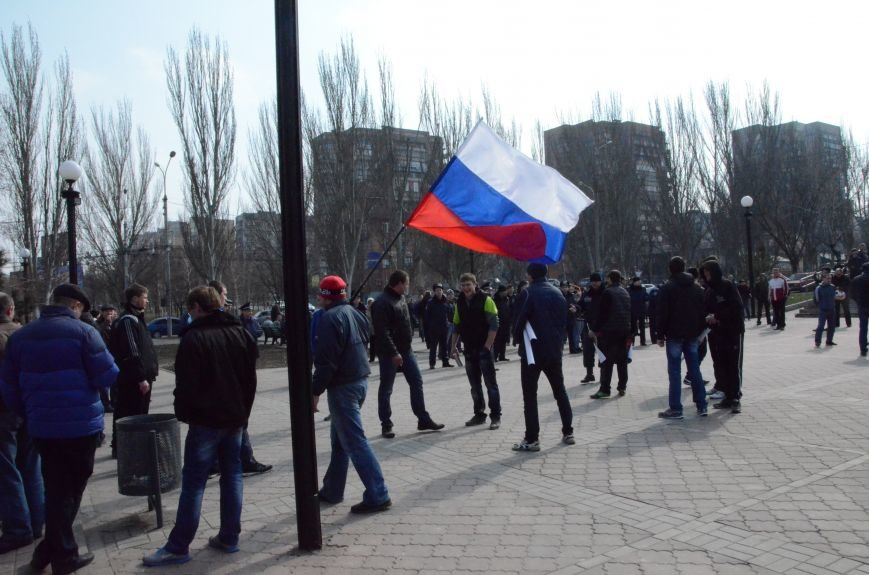 В Мариуполе представители пророссийского движения разогнали митинг за единую Украину (ФОТО+ВИДЕО), фото-4