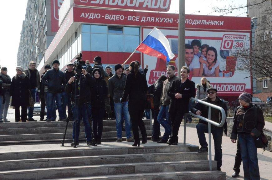 В Мариуполе представители пророссийского движения разогнали митинг за единую Украину (ФОТО+ВИДЕО), фото-29