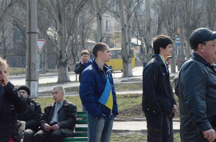 В Мариуполе представители пророссийского движения разогнали митинг за единую Украину (ФОТО+ВИДЕО), фото-1