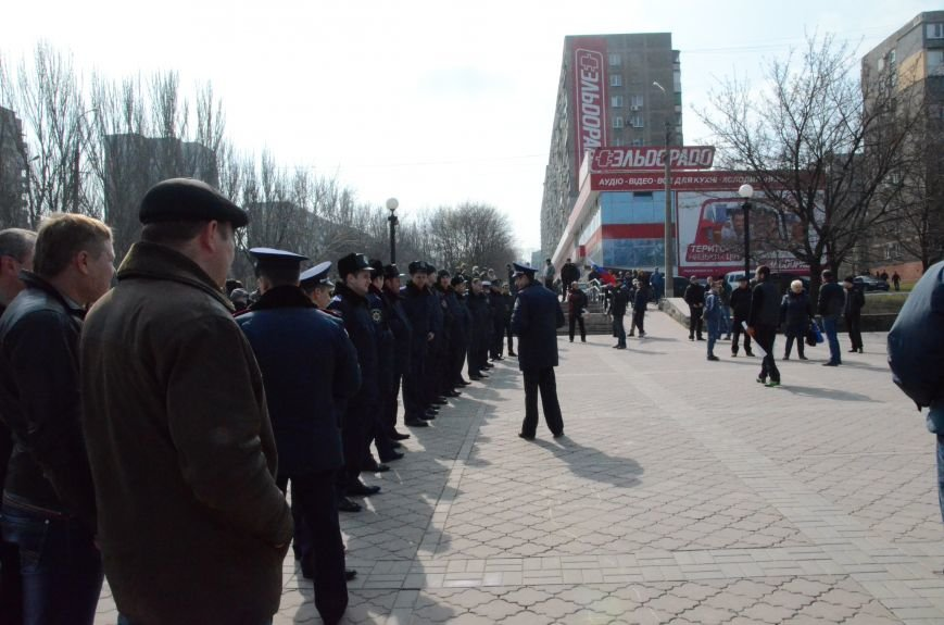 В Мариуполе представители пророссийского движения разогнали митинг за единую Украину (ФОТО+ВИДЕО), фото-3