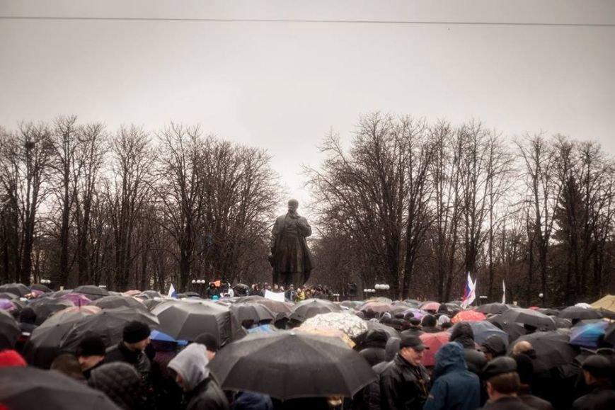 К месту пророссийского митинга в Луганске идут взводы милиционеров (ФОТО), фото-5