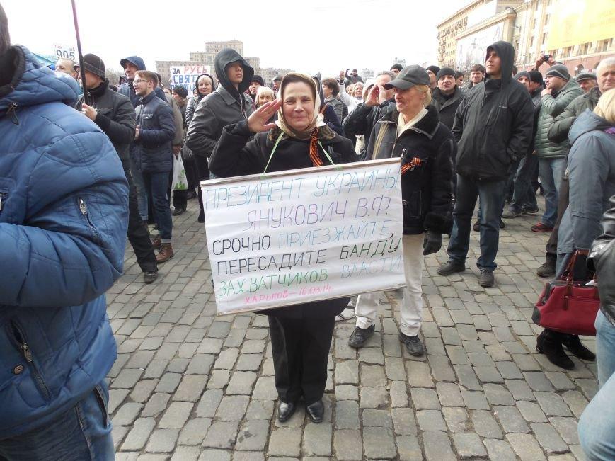 На площади Свободы пророссийские активисты проводят «референдум» (ФОТО), фото-4