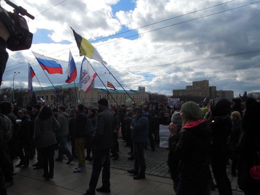 На площади Свободы пророссийские активисты проводят «референдум» (ФОТО), фото-2