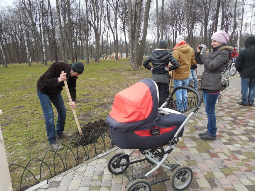 Make tree's, not war: в парке Горького высадили магнолии и миндаль, фото-6