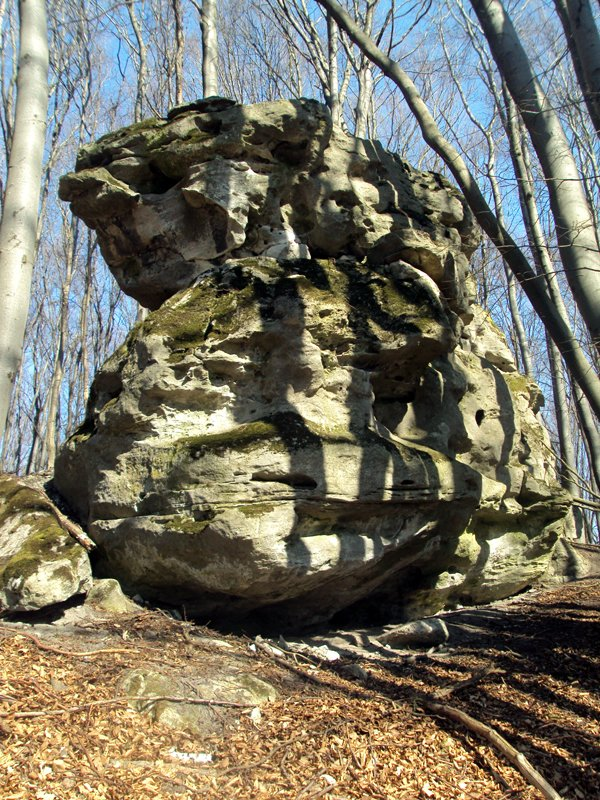 Скеля старих гір на горі Збараж