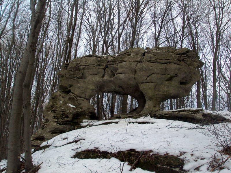Триніг - скелі з дна Сарматського моря