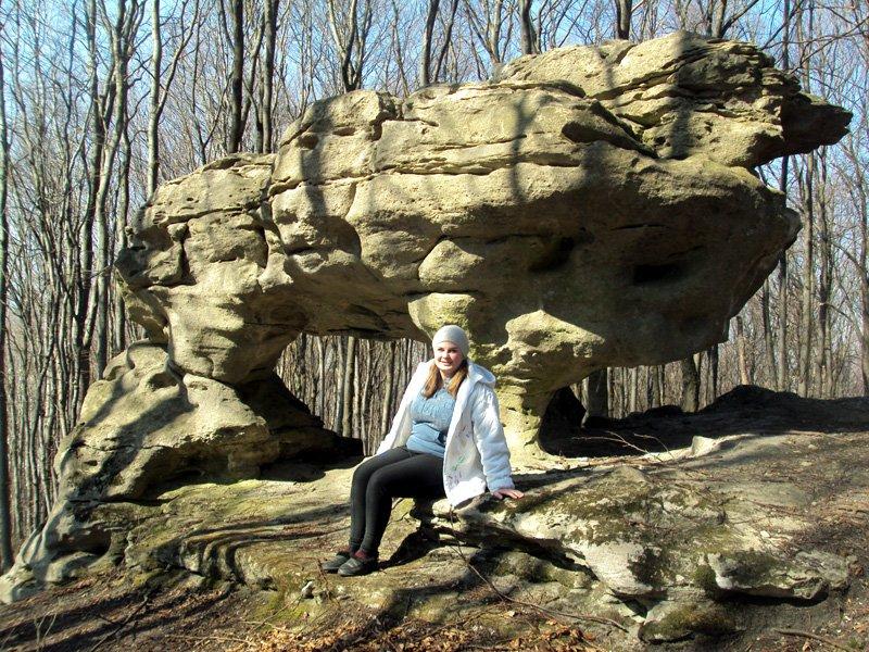 Скеля Триніг у вигляді лагідного звіра