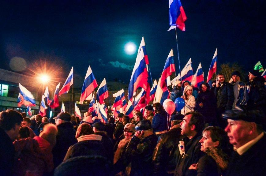 В Симферополе отпраздновали присоединение к России (ФОТО, ВИДЕО), фото-7