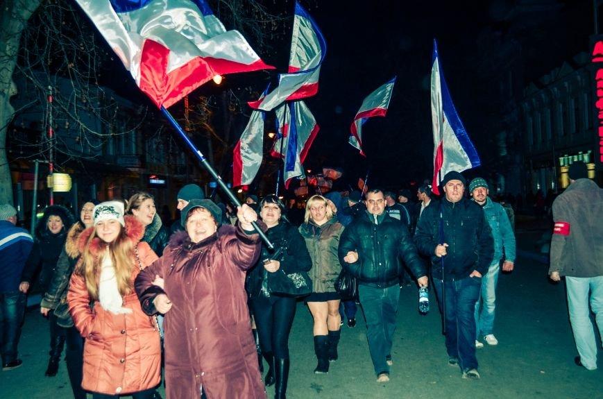 В Симферополе отпраздновали присоединение к России (ФОТО, ВИДЕО), фото-8