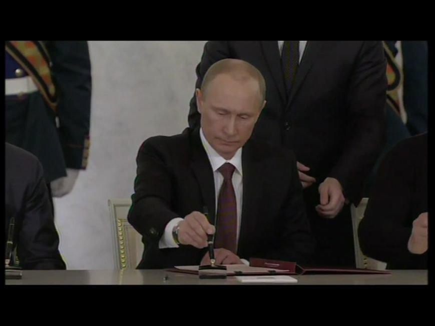 В Кремле подписали договор о принятии Крыма в состав России (ФОТО, обновлено), фото-3