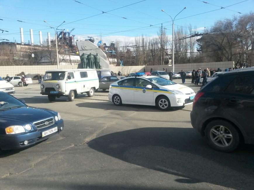 В Мариуполе участники митинга заблокировали пост-мост. Встречали оружие (ФОТО+ Дополнено), фото-11