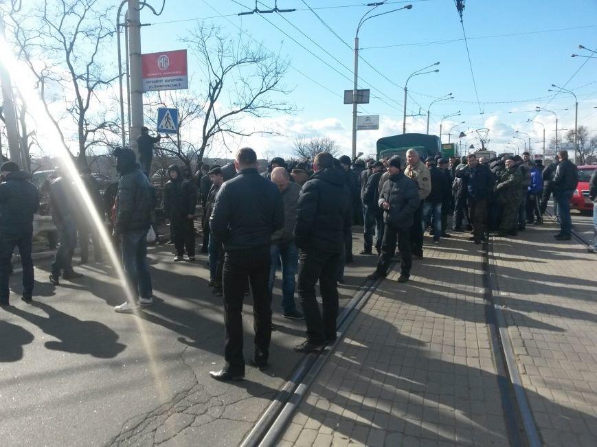 В Мариуполе участники митинга заблокировали пост-мост. Встречали оружие (ФОТО+ Дополнено), фото-20