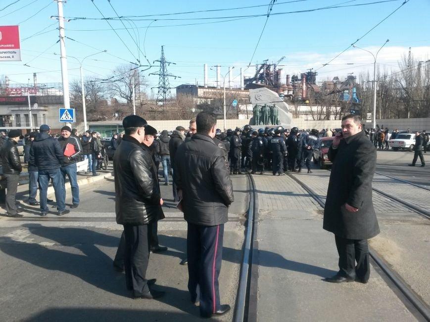 В Мариуполе участники митинга заблокировали пост-мост. Встречали оружие (ФОТО+ Дополнено), фото-3